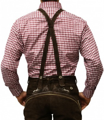 Traditional Bavarian Shirt For Lederhosen/Oktoberfest, Checkered – Bild 23