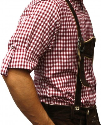 Traditional Bavarian Shirt For Lederhosen/Oktoberfest, Checkered – Bild 24