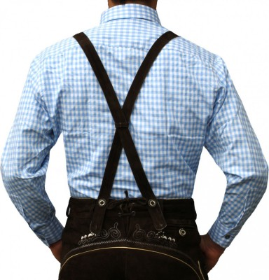 Traditional Bavarian Shirt For Lederhosen/Oktoberfest, Checkered – Bild 17