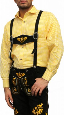 Traditional Bavarian Shirt For Lederhosen/Oktoberfest, Checkered – Bild 13
