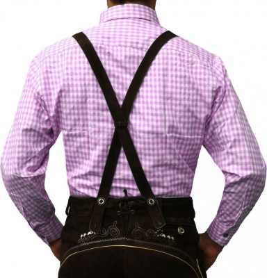 Traditional Bavarian Shirt For Lederhosen/Oktoberfest, Checkered – Bild 20
