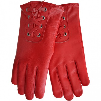 Trendy sheepskin Gloves for women real leather – image 1