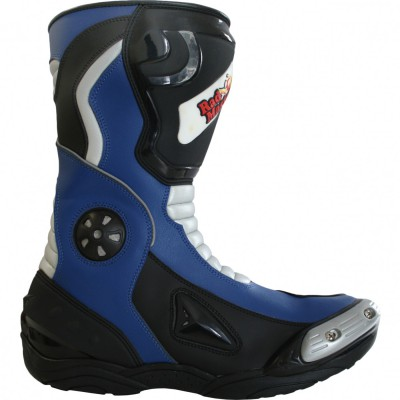 Motorbike Racing Sport Boots colour white/black – image 2
