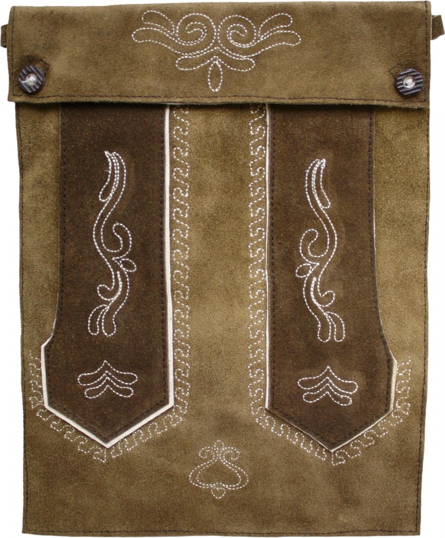 trendige trachten tasche tablettasche f r pad tablett echtes leder wildleder. Black Bedroom Furniture Sets. Home Design Ideas