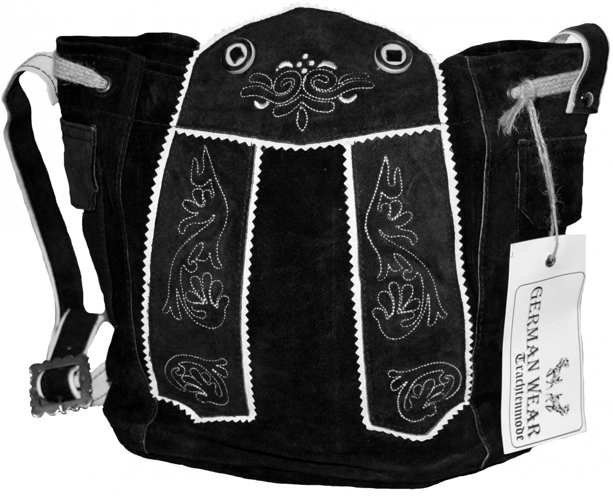 damen trachtentasche dirndl taschen trachten ledertasche schwarz. Black Bedroom Furniture Sets. Home Design Ideas
