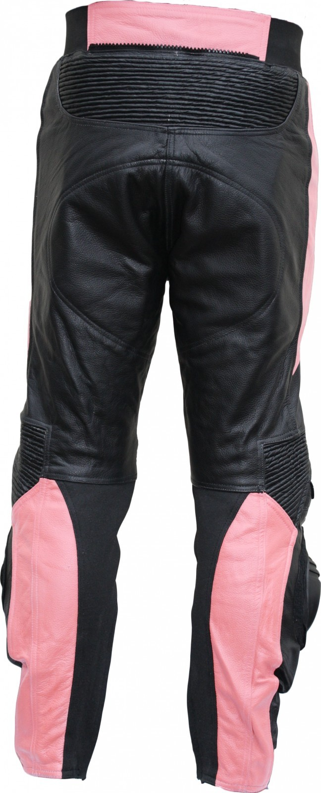 damen motorradhose motorrad biker racing lederhose rindsleder schwarz pink. Black Bedroom Furniture Sets. Home Design Ideas